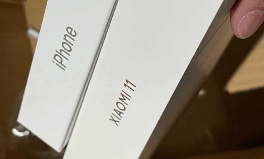 Suggested Xiaomi Mi 11 box.