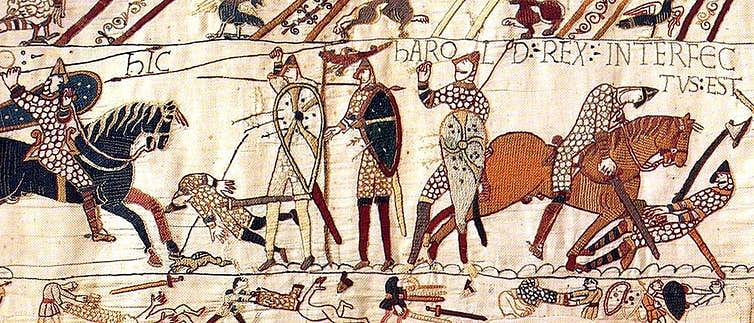 After the Norman triumph in 1066, the English language was never the same again