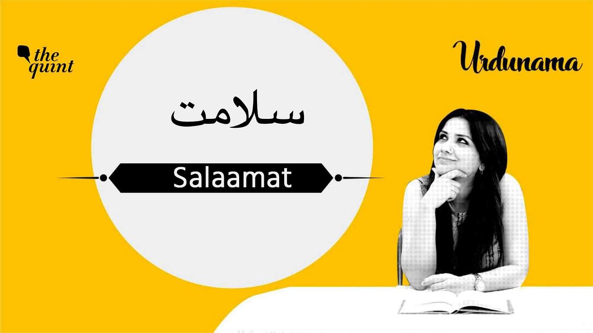 Poetry and A Prayer to Keep Safe & 'Salaamat' This New Year