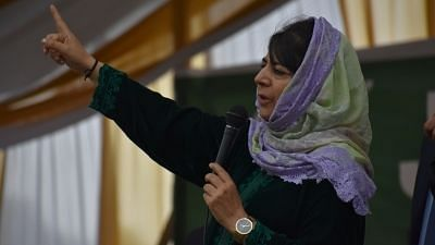 Mehbooba Mufti Alleges Being Detained at Her Residence in Srinagar