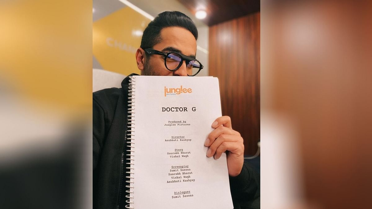 Ayushmann Khurrana with the script of Doctor G.