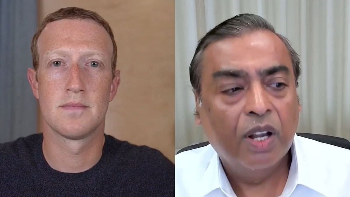 Facebook-Jio to Boost Indian Economy: Ambani Chats With Zuckerberg