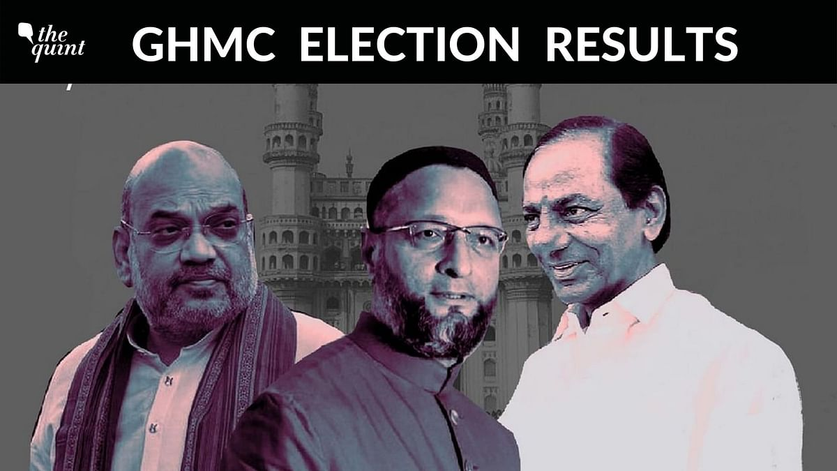 GHMC Results: TRS Single Largest Party at 55 Seats, BJP 2nd at 48