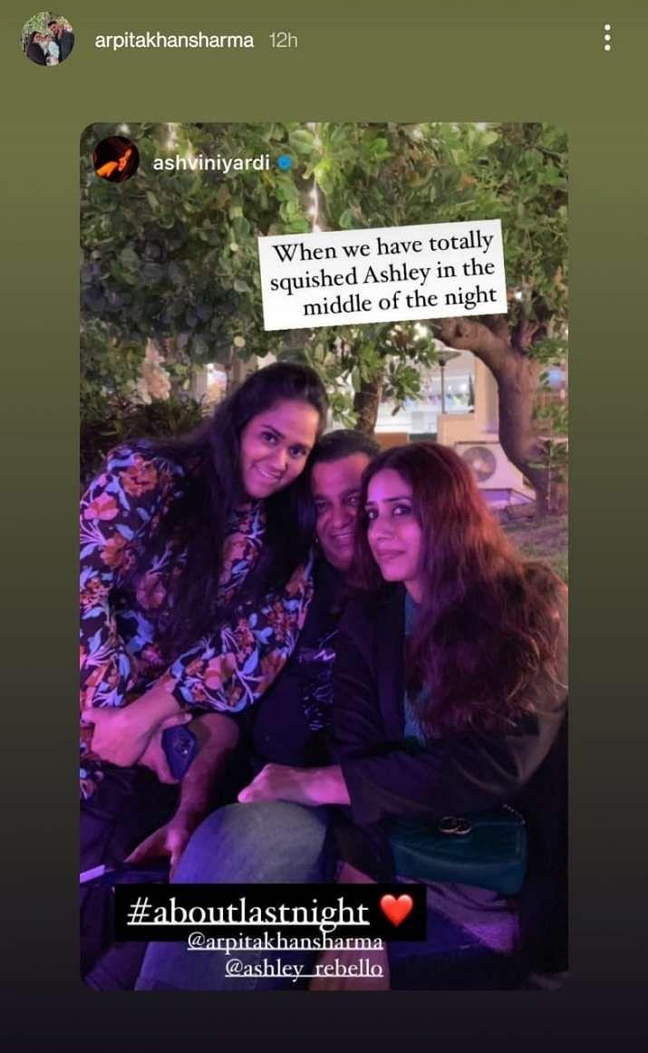 Pics: Salman Khan & Niece Ayat's B'day Bash at Actor's Farmhouse