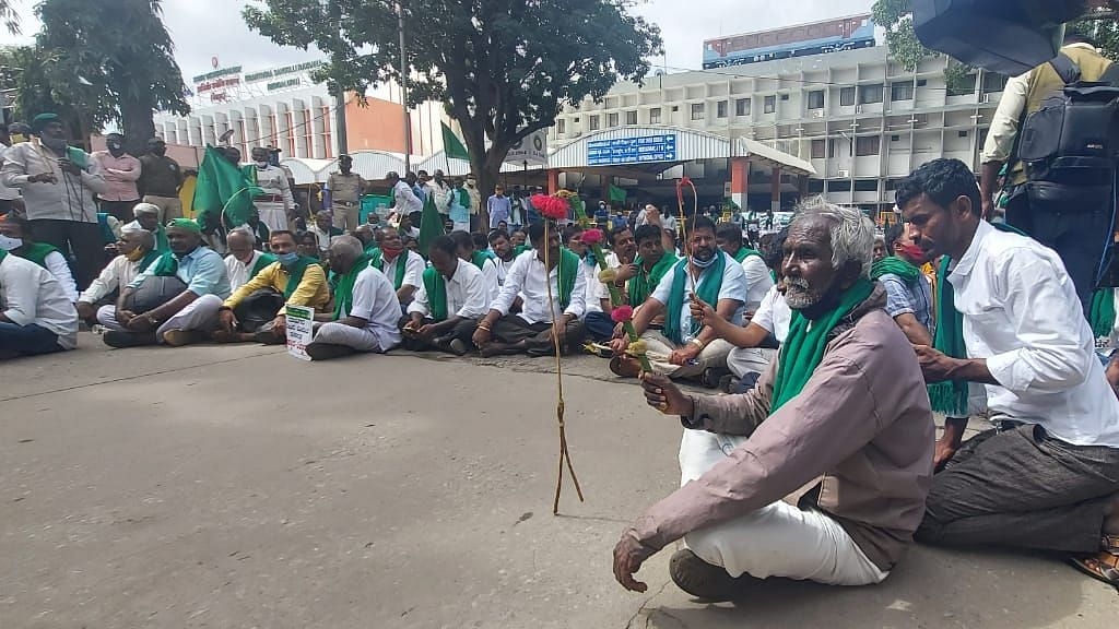 New Land Reforms Act Sparks Fresh Farmers' Protest in Karnataka