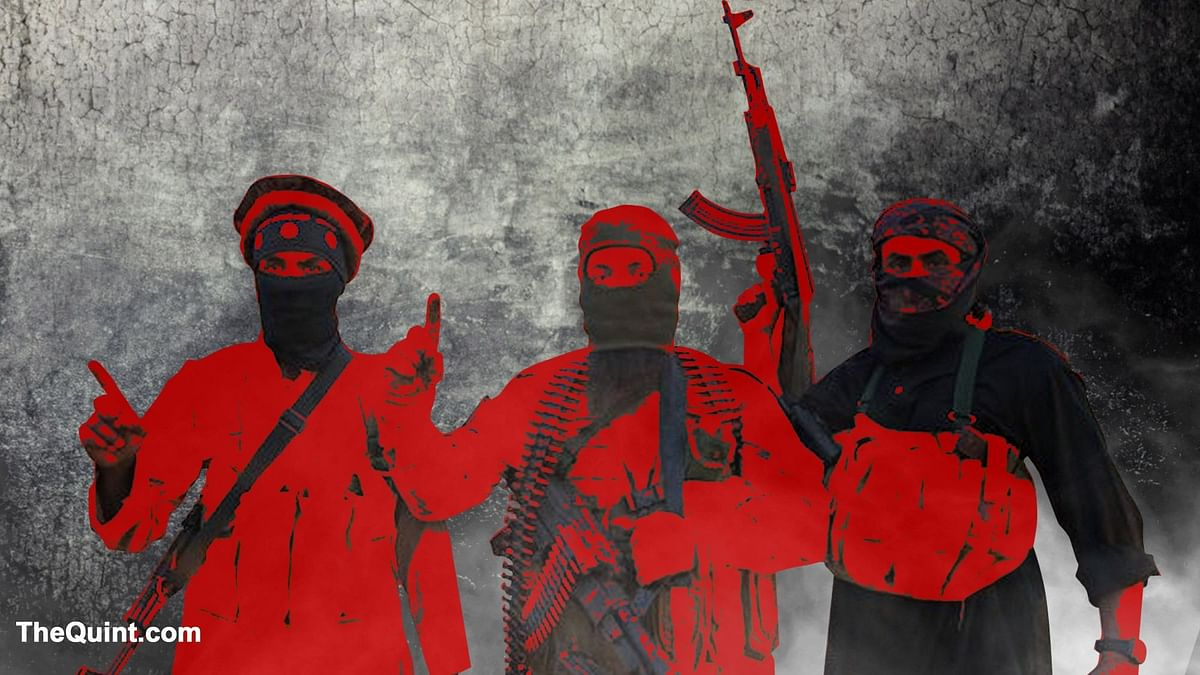 Four alleged terrorists arrested by security forces in J&K. Image used for representational purposes only.