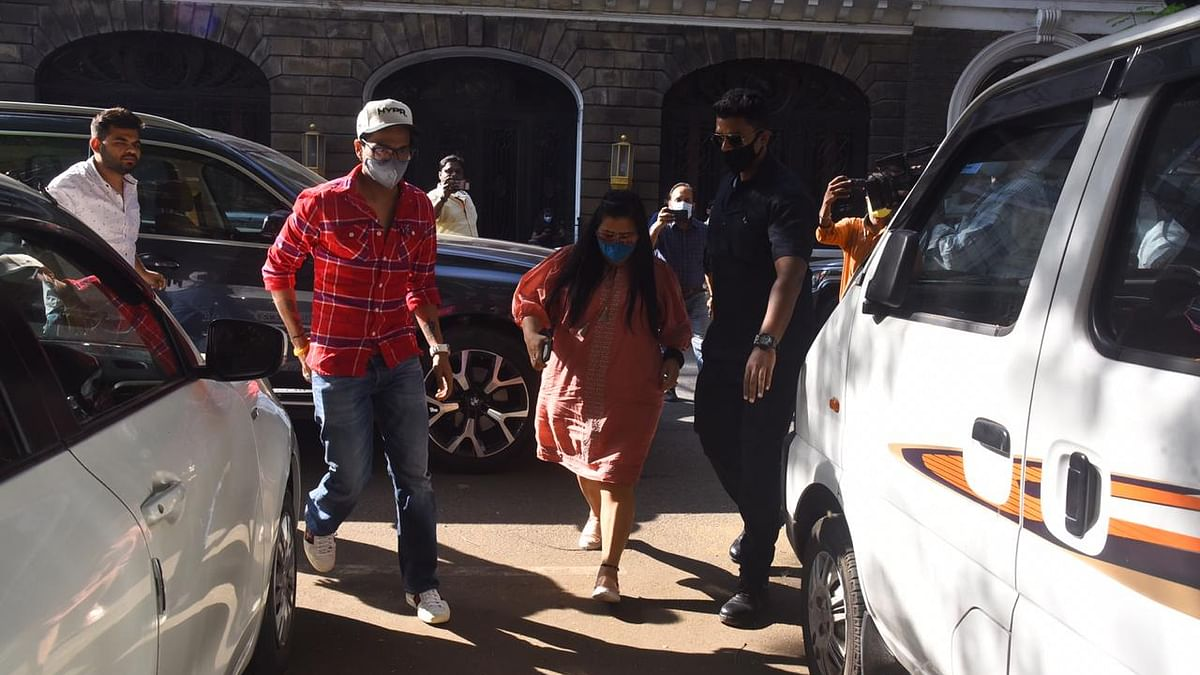 Comedian Bharti Singh and her husband Harsh Limbachiyaa.