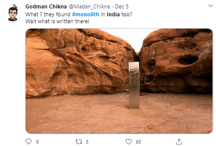 Desi Twitter Wonders: What if the Monolith Was Found in India?