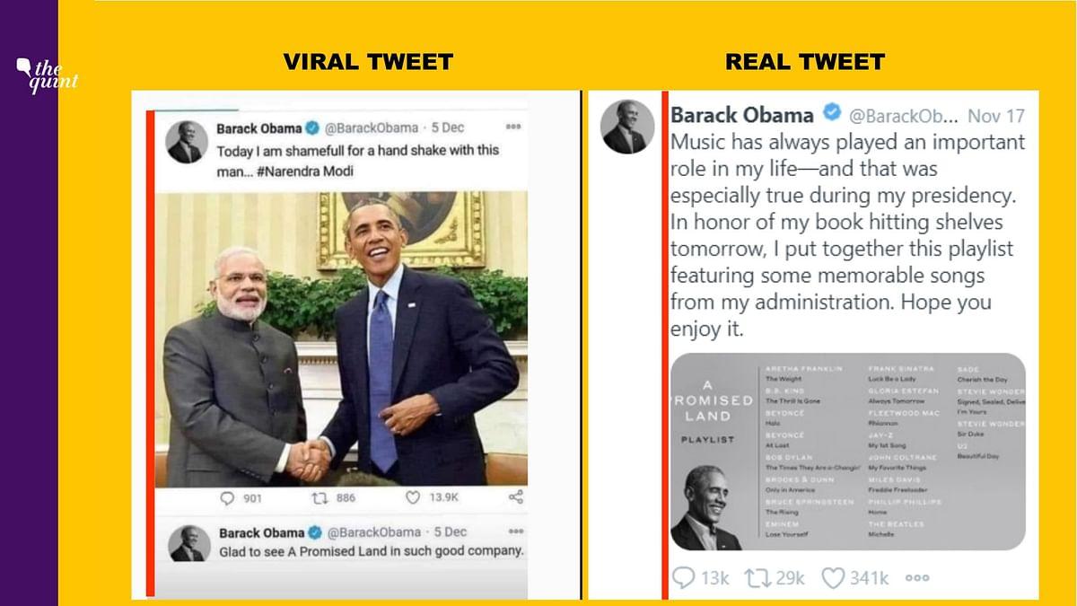 Comparison of viral tweet and Tweetdeck view.