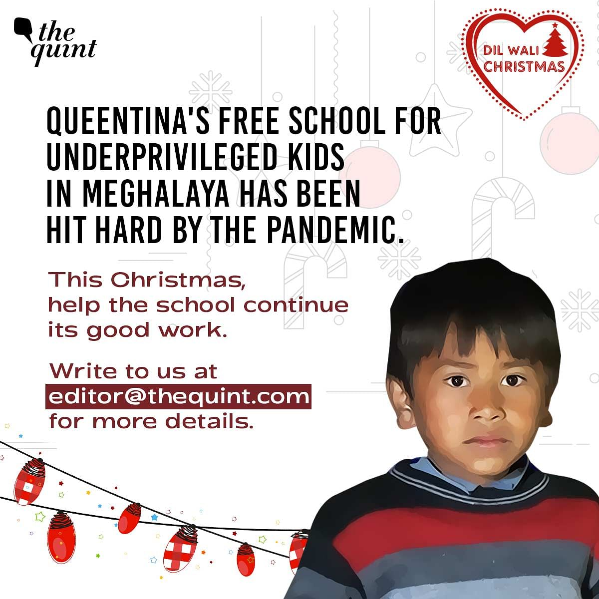 The Quint's fundraiser to help Queentina's school.