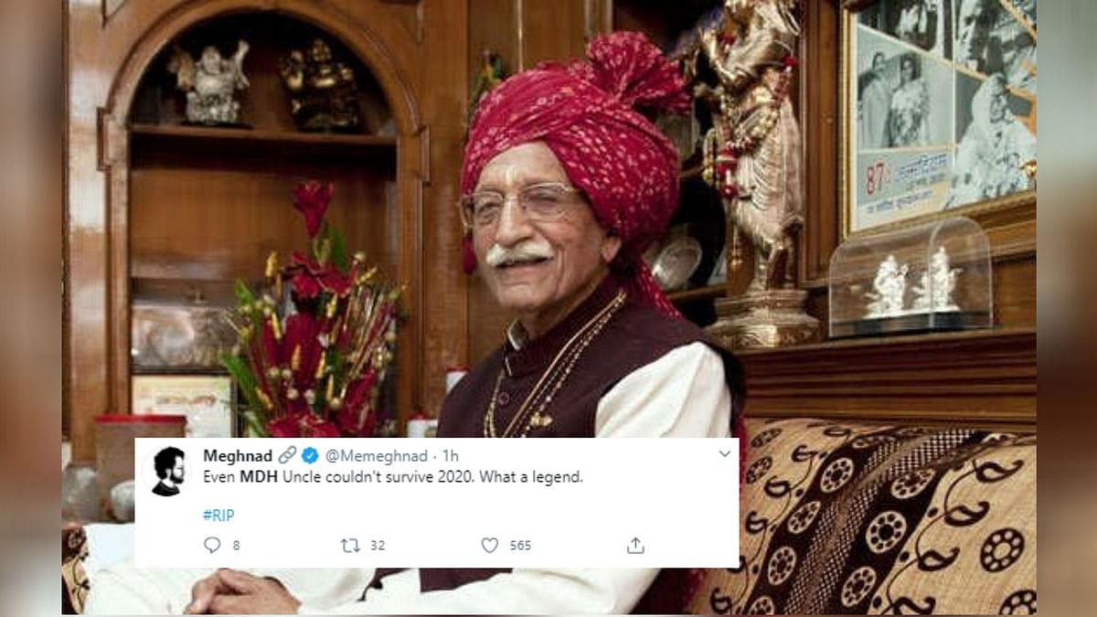 Twitter Mourns The Loss of Beloved 'MDH Uncle' Passes