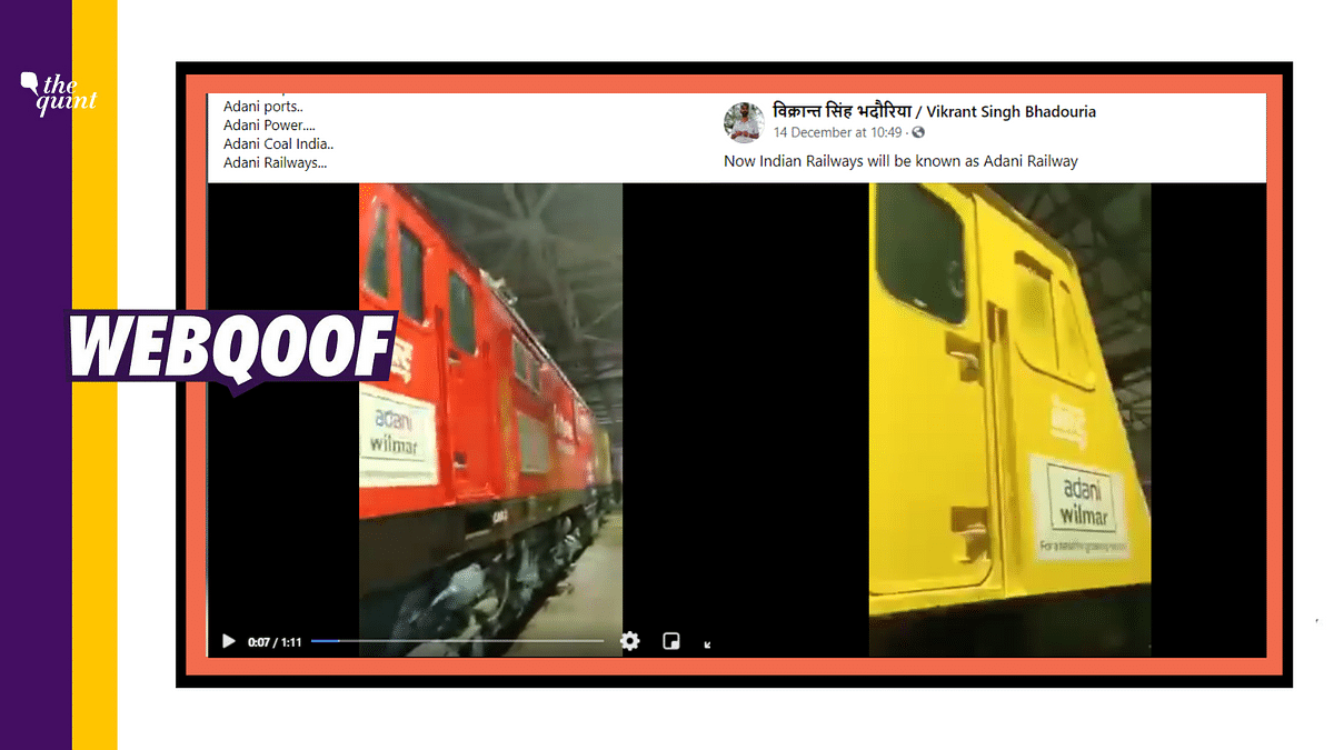 No, Indian Railways Hasn't Been Sold to Adani; It's Just an Ad!