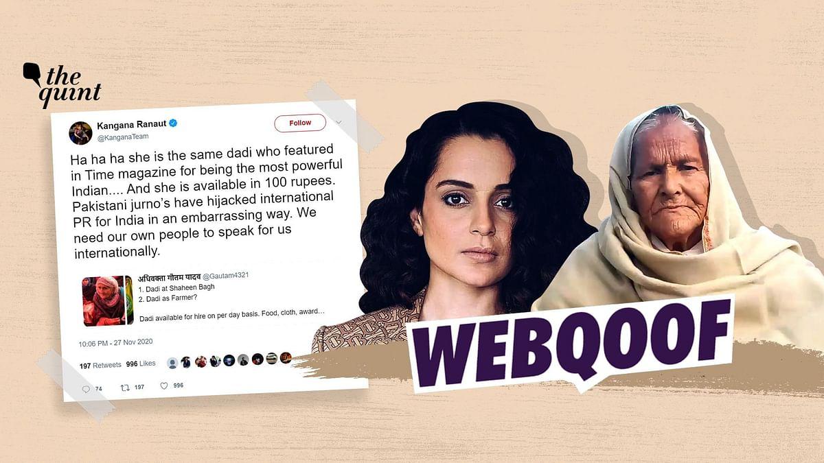 Old Woman, Misidentified as Shaheen Bagh's Bilkis Dadi, Speaks Up