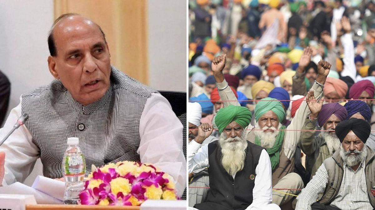 Govt Talking To Farmers With 'Full Sensitivity', Says Rajnath