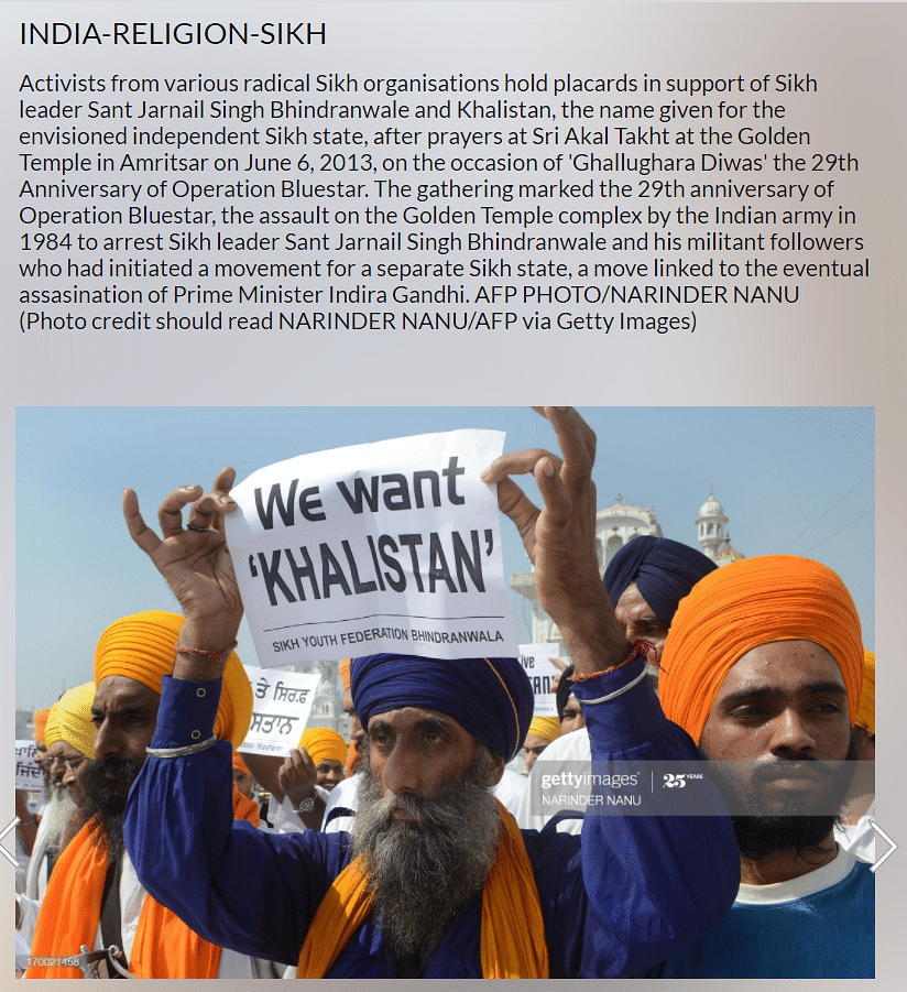 Old Pic of Pro-Khalistan Placard Falsely Linked to Farmers Protest