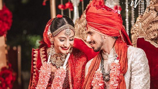 Chahal Ties the Knot With Dhanashree Verma, Wishes Flood Twitter