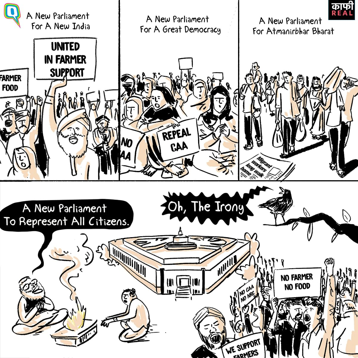 Amid Protests, a New Parliament for a 'New India'  is Kaafi Real!