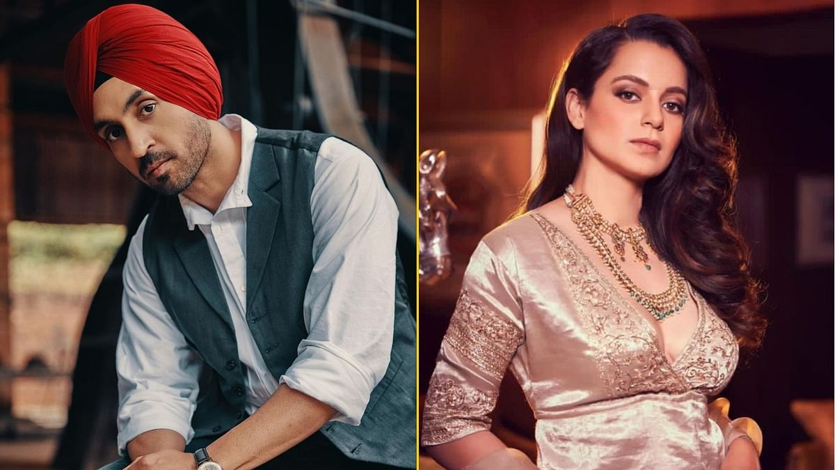 Kangana Tweets On Diljit's Rihanna Song, the Singer Reacts