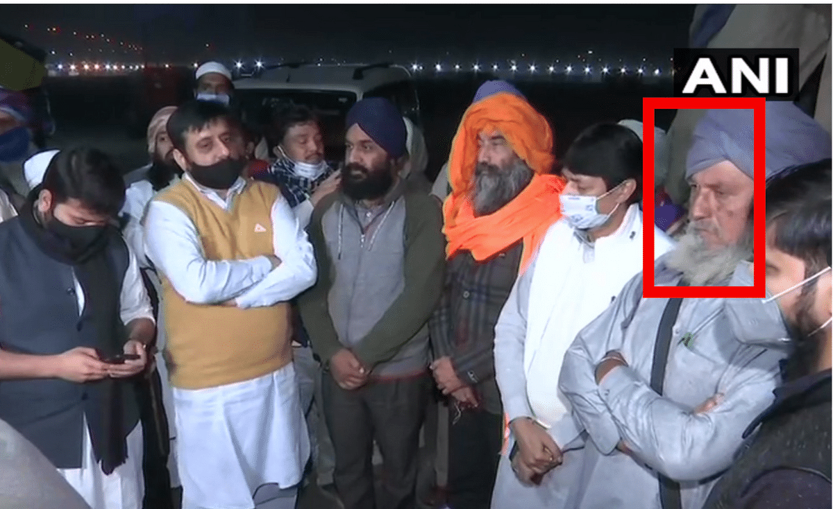 Fake Pic of Man in Turban Passed Off as Muslim Disguised as Sikh