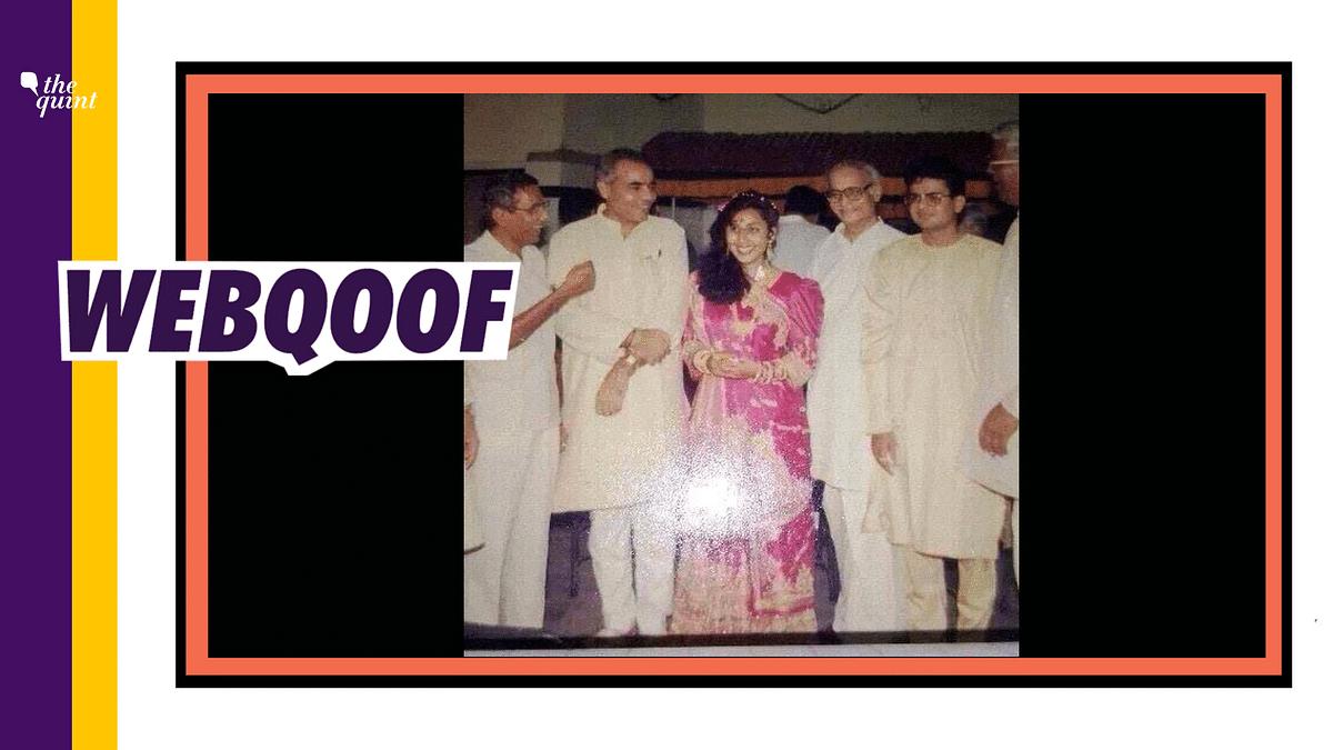Keyur Chapatwala confirmed that the woman standing next to Modi is his sister, Alpa Chapatwala.