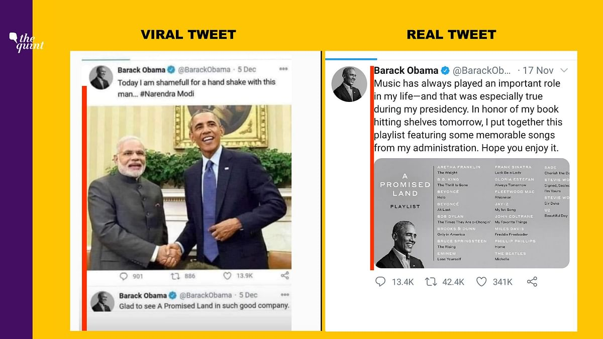 Comparison of viral tweet and mobile application.