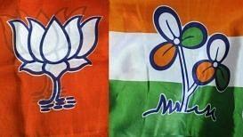 Bharatiya Janata Party (BJP) vs Trinamool Congress (TMC).