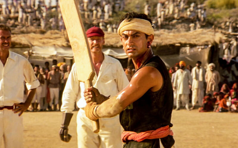 Aamir Khan in Lagaan.