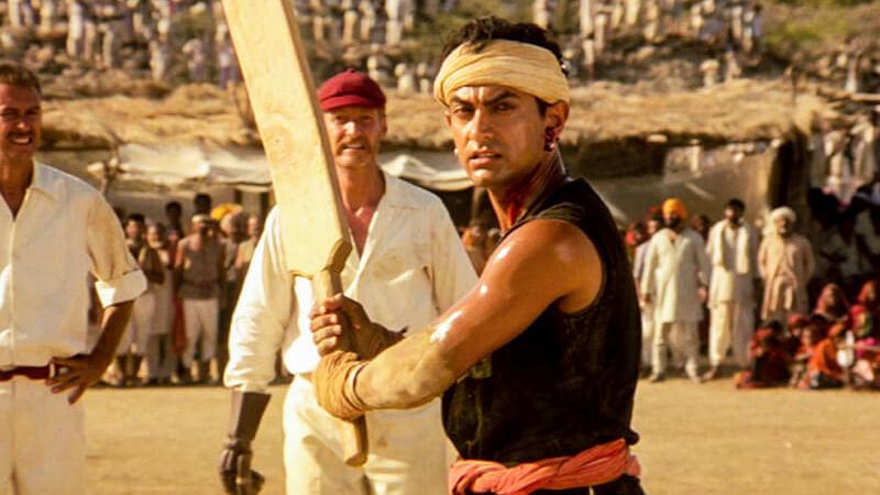 Aamir Khan in Lagaan.
