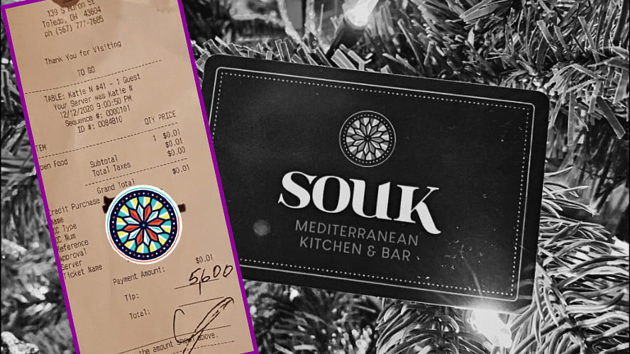 Christmas came early for the employees of Souk