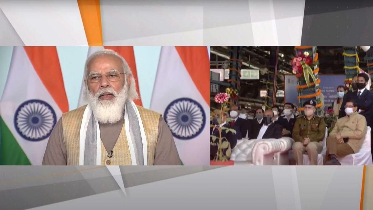 PM Modi Launches India's 1st Driverless Train Ops on Delhi Metro