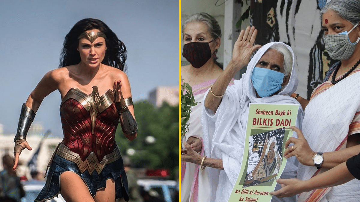 """<i>Wonder Woman</i> actor Gal Gadot has included Shaheen Bagh activist Bilkis Dadi among her """"personal wonder women""""."""