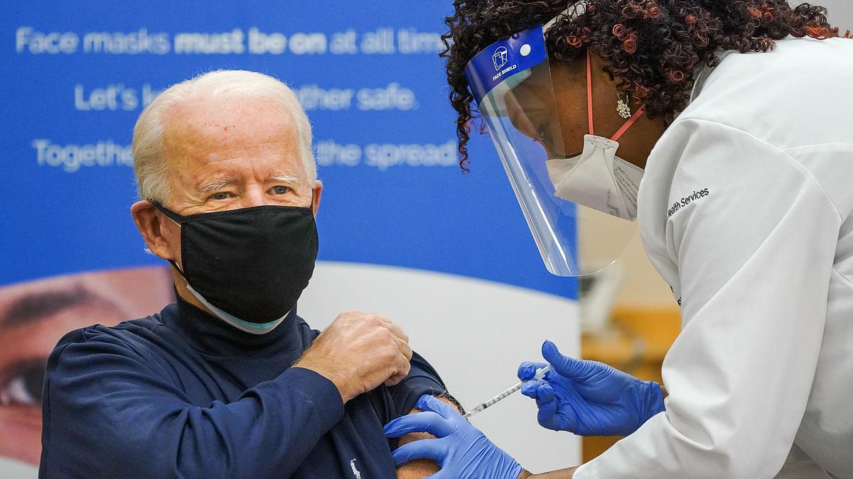US President-Elect Joe Biden Gets Pfizer COVID Vaccine on Live TV