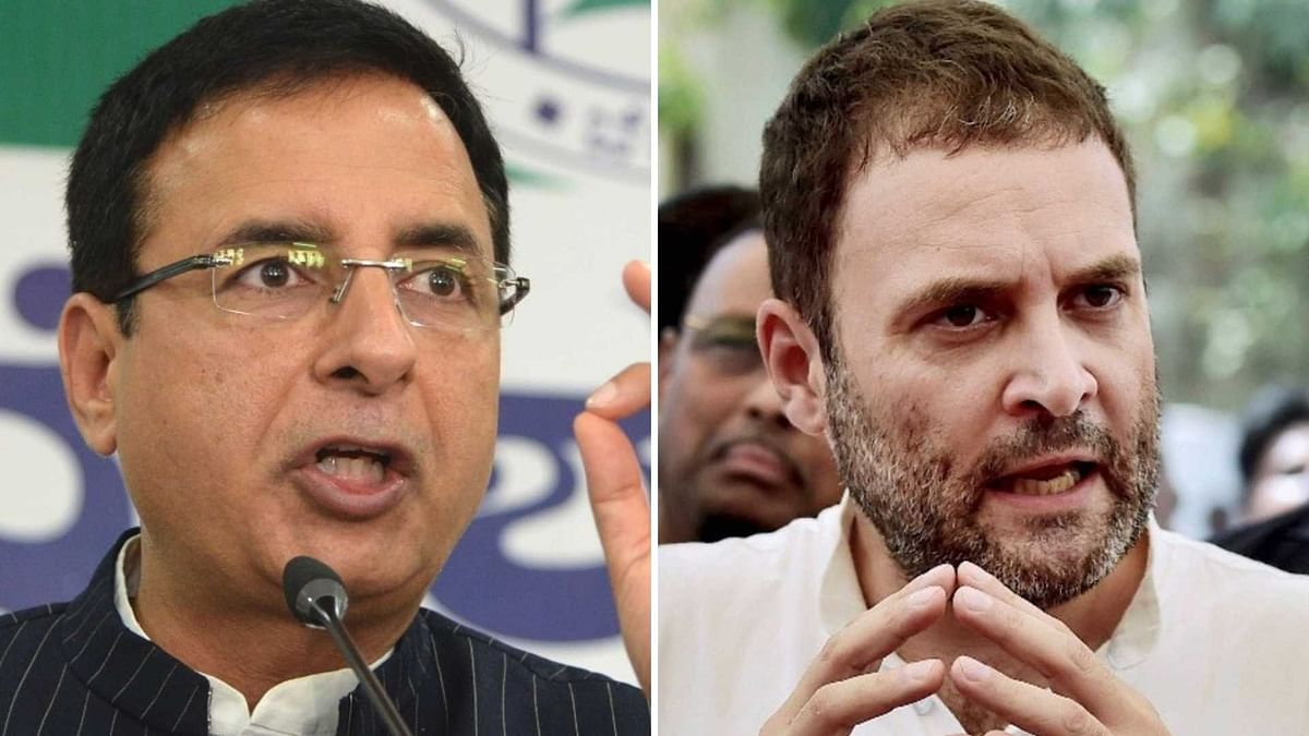 99.9% Cong Leaders Want Rahul to Be Elected Party Chief: Surjewala