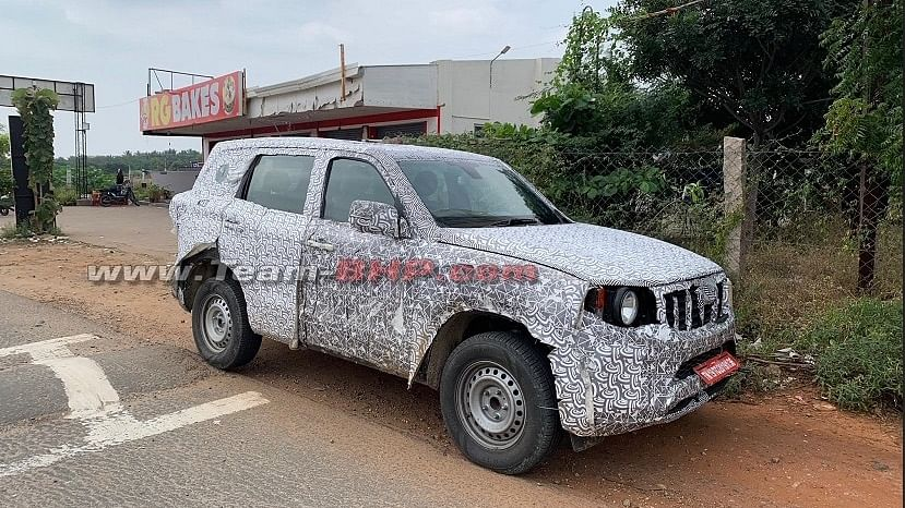 The new Mahindra Scorpio has the code name Z101 and is likely to be launched next year.
