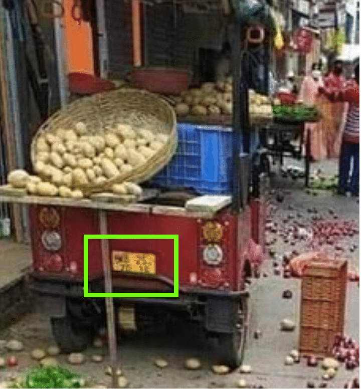 Vandalism During Bharat Bandh? No, Image is At Least 6 Months Old