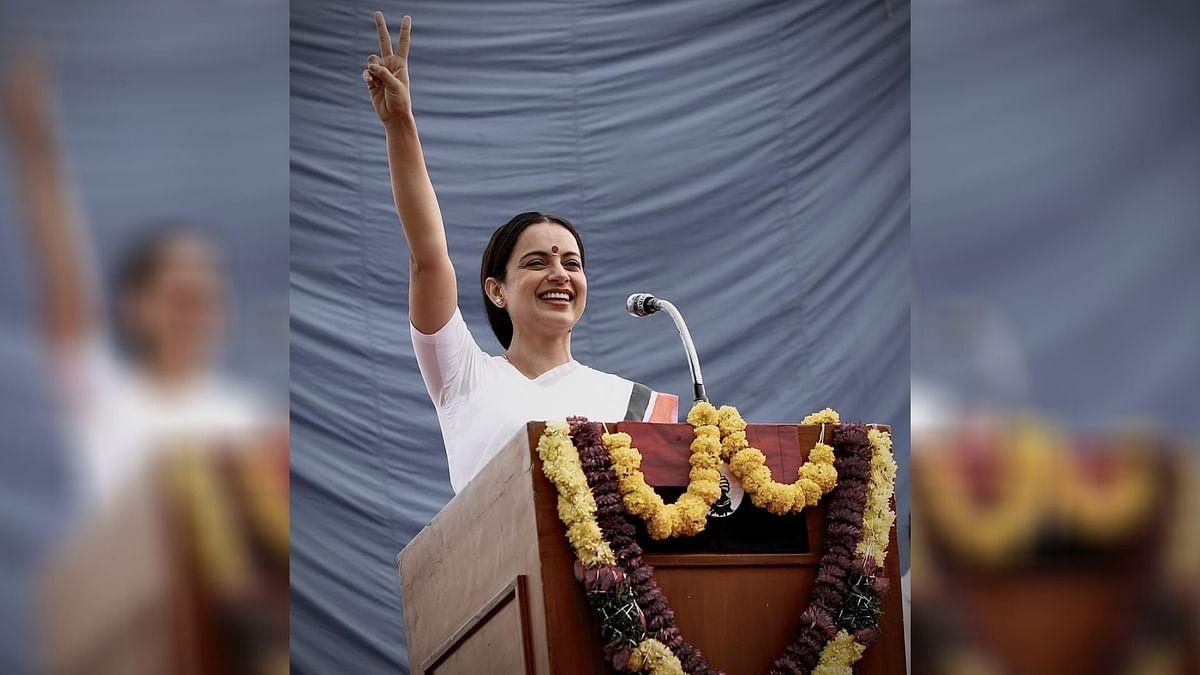 Kangana Wraps Up 'Thalaivi', Calls It 'Most Ambitious Project'