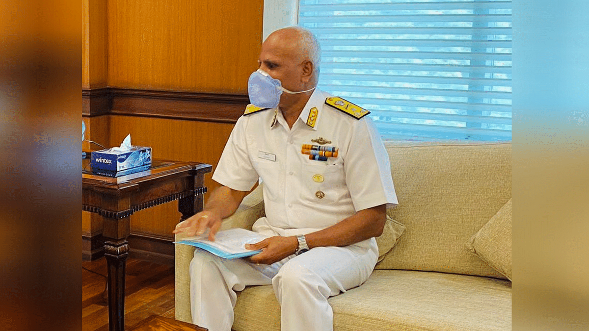 Indian Navy, Vice Admiral Srikant