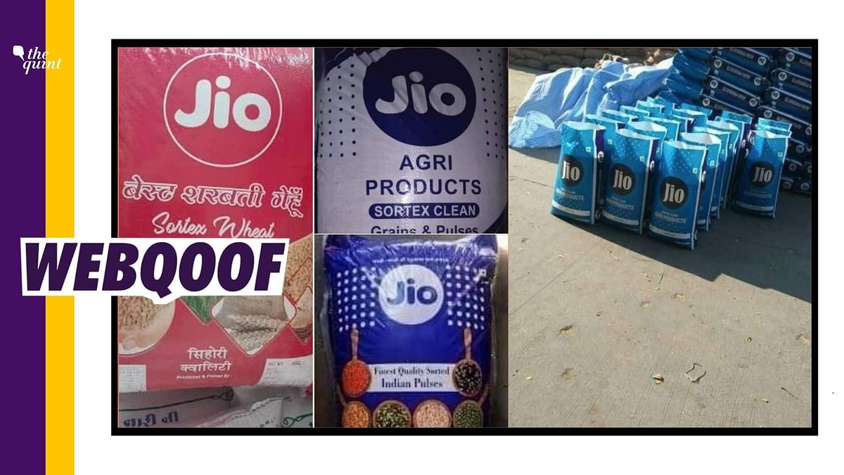 Viral Images of Food Sacks Falsely Linked to Ambani's Reliance Jio