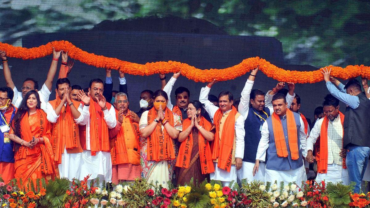 'Shameful': TMC Leaders Lash Out at BJP Over National Anthem Gaffe