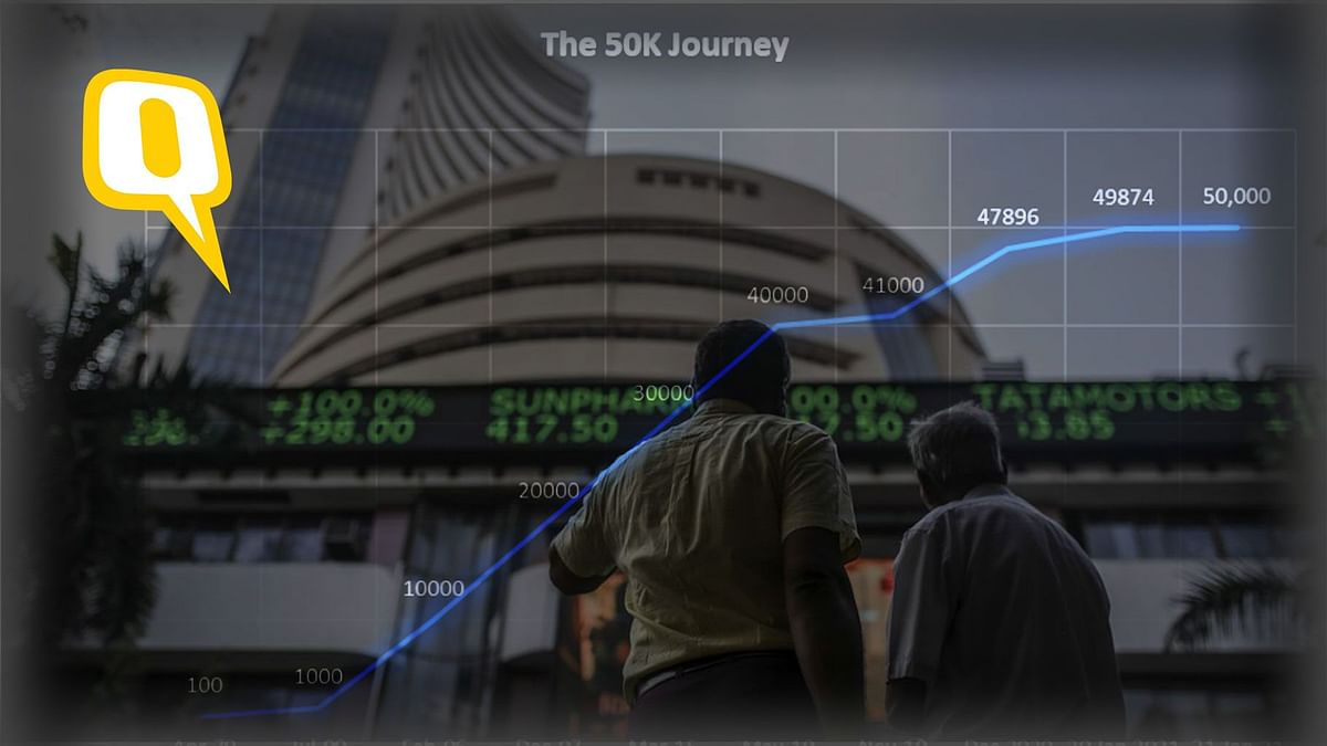 How Sensex Breached 50,000 For the First Time, Doubling in 5 Years
