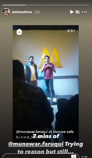 Vir Das & Other Stand-up Comics Show Support For Munawar Faruqui