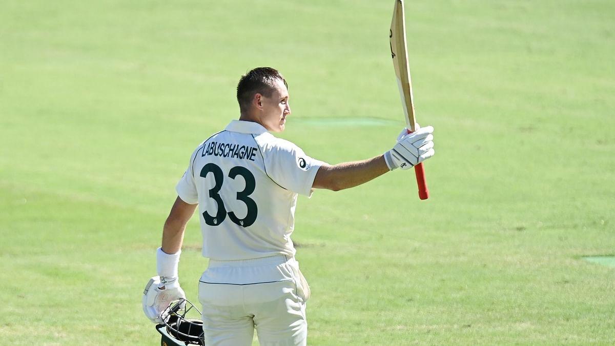 Australia's Marnus Labuschagne scored 108 vs India on Day 1 of the Brisbane Test.