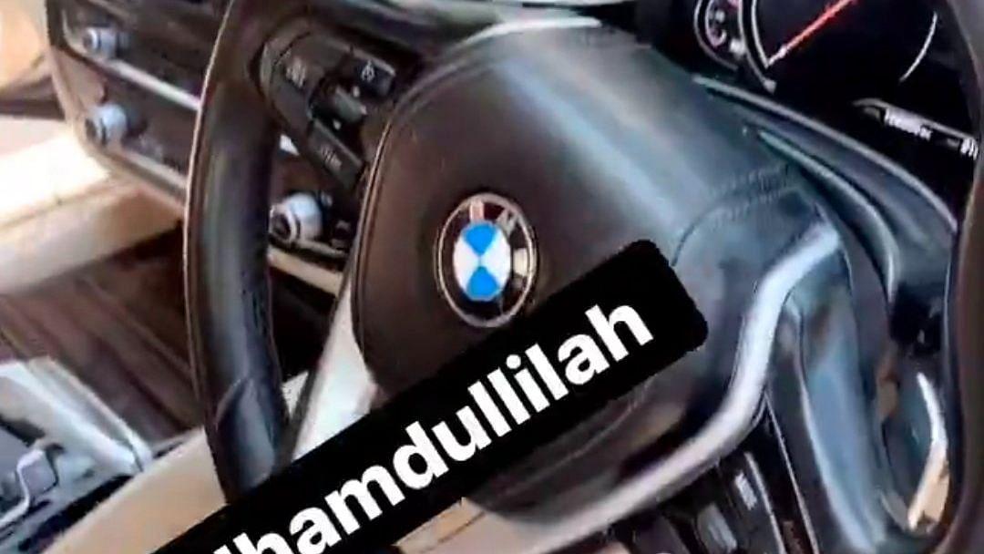 Siraj Buys a BMW to Celebrate Aus Series Heroics