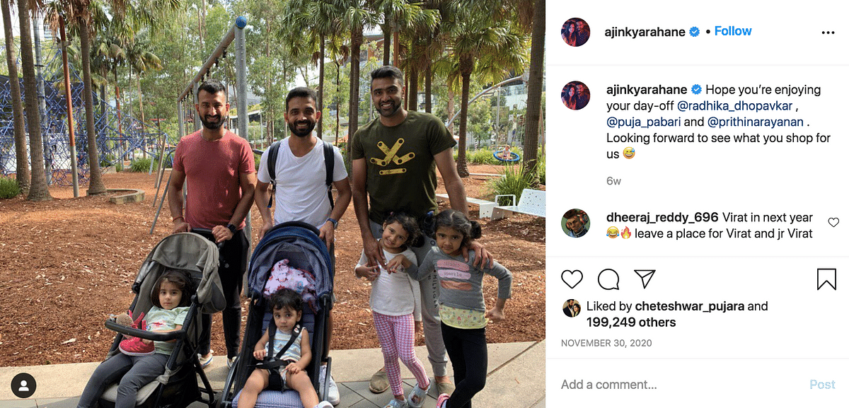 Virat's Team India Family Welcome His Daughter to the 'Girl Gang'