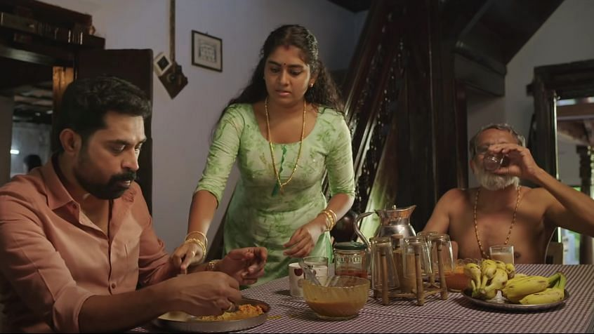 A still from <i>The Great Indian Kitchen.</i>