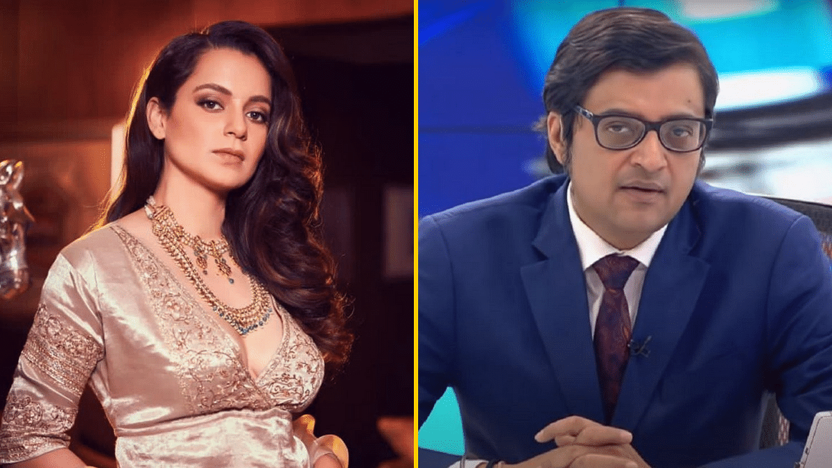 Kangana Ranaut has reacted to the alleged leaked WhatsApp chats of Republic TV founder Arnab Goswami.