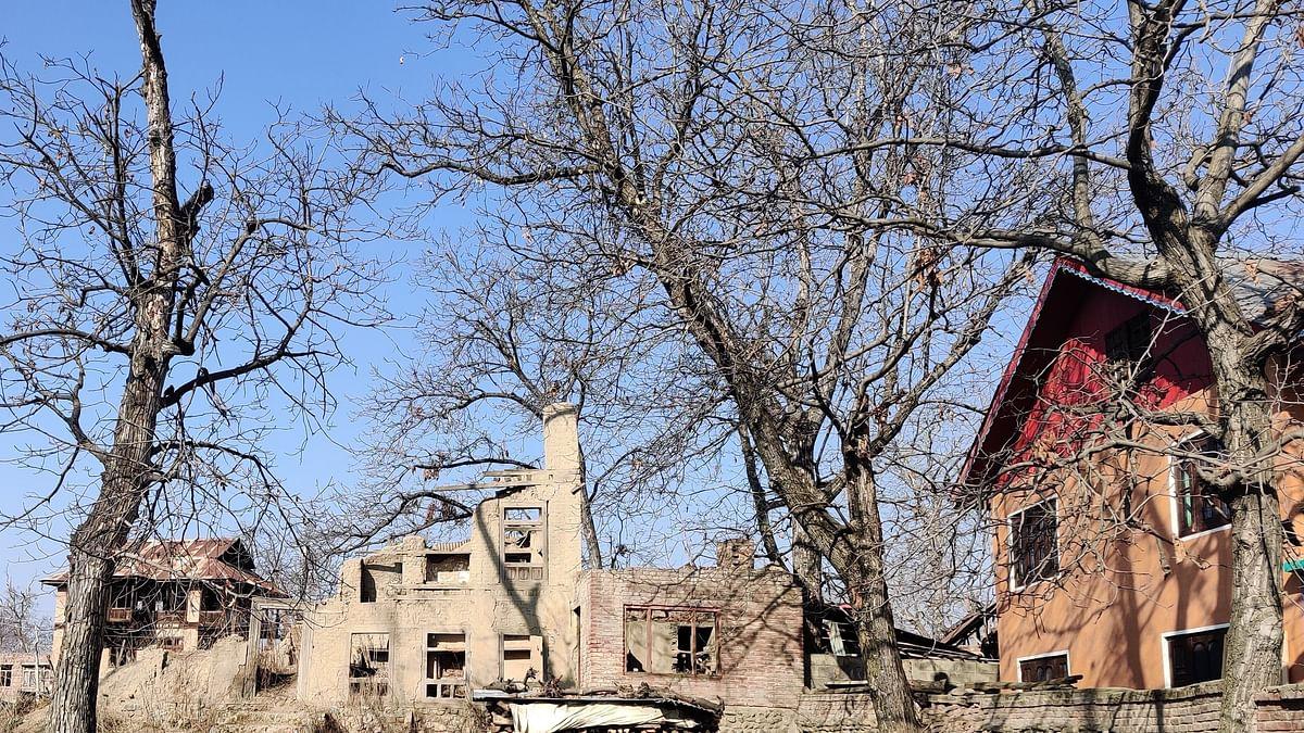 Author's home in Akura, Anantnag, Kashmir