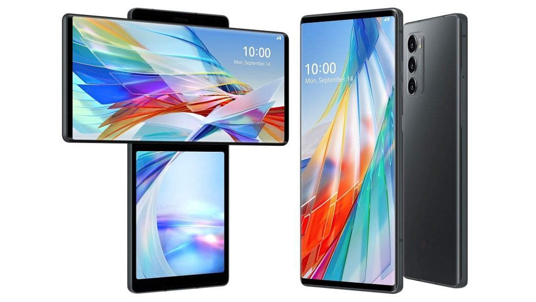 LG Wing 5G smartphone