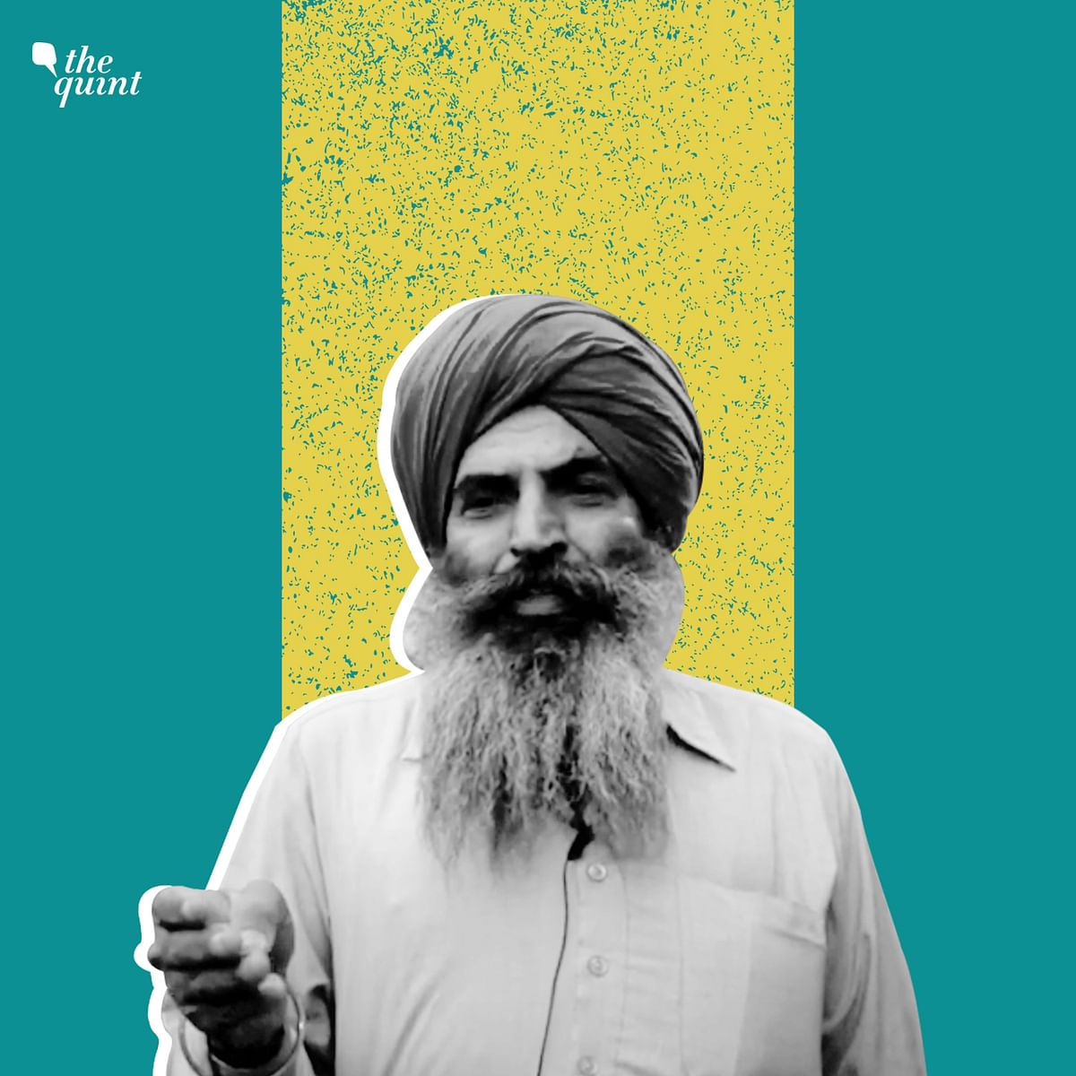 Kuldeep Singh, a protester from Fazilka in Punjab, has composed a song on the plight of farmers.