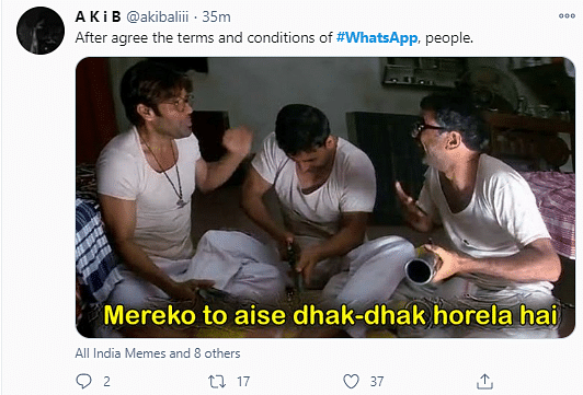 WhatsApp's New Privacy Update Triggers Memes on Social Media